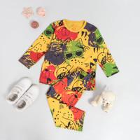 Peachbello Baju Tidur Anak Laki Laki dan Perempuan Usia 1-6th