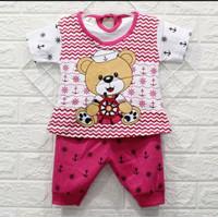 Setelan Murah Baju Bayi Perempuan 6 12 bulan
