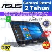 ASUS VivoBook Flip TP401MA N4020 4GB 256GB NVMe 14 W10 OHS+ PEN