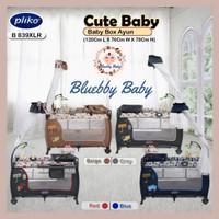 PLIKO CUTE BABY Box B 839XLR Tempat Tidur Ranjang Bayi Rocking Kelambu