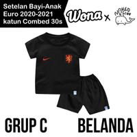 Setelan Euro Naked & Free Grup C (Belanda) Untuk Bayi & Anak Bhn Katun