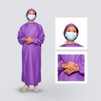 Surgical Gawn APD Gown Baju Tenaga Medis Surgical - ungu