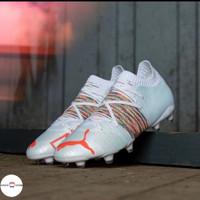 Sepatu Bola Puma Future Z 1.1 FG/AG White Premium Original