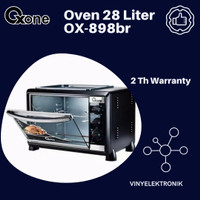 Oven jumbo 28L oxone ox-898br khsus gojek/grab garansi 2th