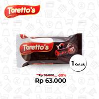 Torettos's Rasa Coklat Vanila (1 Kotak 120 Pcs)