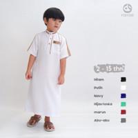 Baju Gamis Jubah Koko Anak Laki-laki Premium Usia 2-15 Tahun Farrasi