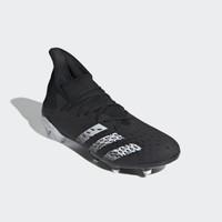Sepatu Bola Adidas Predator Freak .3 FG - Black White FY1030 Original