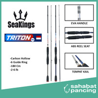 JORAN UL ULTRALIGHT CARBON HOLLOW SEAKINGS TRITON 180CM TERMURAH