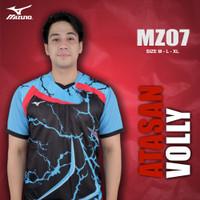 [MZ07] Baju Voli Pria Kaos Volly Proliga Atasan Olahraga Printing