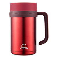 Lock&Lock Exclusive Table Mug Tumbler Panas & Dingin (500ml) Merah