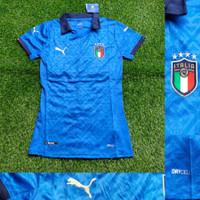Jersey Baju Bola Cewek Ladies Wanita itali Italy Home Biru 2020-2021