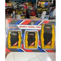 cover pedal mobil manual toyota agya calya avanza xenia brio kuning