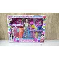 Mainan Barbie Fashion Girl 10 Baju aksesoris