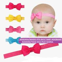 BANDANA / BANDO PITA BAYI warna warni / Baby Headband