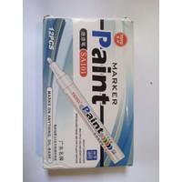 Spidol Ban TOYO Paint Marker Toyo Kualitas Terbaik - Putih