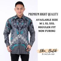 Kemeja Batik Pria Lengan Panjang - Baju Batik Pria Motif Terbaru Murah