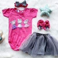 baju bayi perempuan 0 6 bulan Newbron perempuan cewek