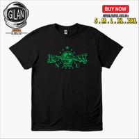 Kaos Baju NU Logo Nahdatul Ulama Kaos Dakwah Islami - Gilan Cloth - S, Hitam