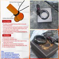Dijual Gelang/Cincin Alat Vital Pria, Bahan Black Jade Aceh Terapi