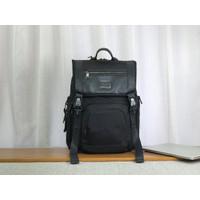 Tumi Alpha Bravo Lark Backpack Black-ransel tumi