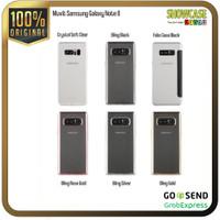 MuVit Casing Samsung Note 8 Softcase Tipis Anti Crack Folio Bookcase