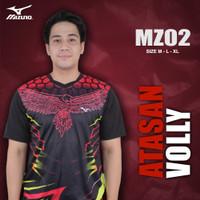 [MZ02] Baju Voli Pria Kaos Volly Proliga Atasan Olahraga Printing