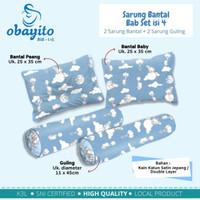 Sarung Bantal Guling Set BAYI Obayito Obayiku/Sarung Bantal Set Bayi
