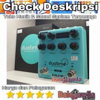 Effek Efek Gitar NUX NDD-6 NDD6 NDD 6 Duotime Dual Delay Engine Ori