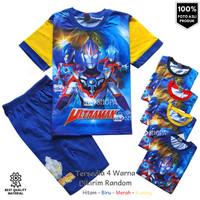 Baju Setelan Anak Laki-laki ULTRAMAN Fullprint 1-10 tahun