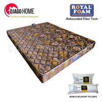 Kasur Royal Foam Rebounded Vario Orthopedic Queen Size 160 x 200