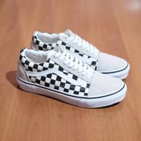 Vans Old Skool Primary Checkerboard White BNIB