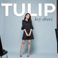 TULIP KEY DRESS baju pesta pakaian atasan wanita murah