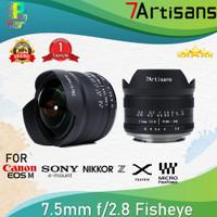 7artisans Photoelectric 7.5mm f/2.8 Fisheye Lens - FOR CANON
