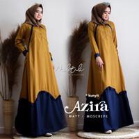 Maxi Dress Fashion Muslim Azira Kunyit