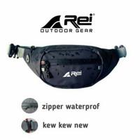 Waistbag Pria Arei Rei Waterproof Anti Air Tas Selempang Not Eiger