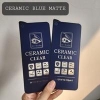 IPHONE X / XS TEMPERED GLASS CERAMIC ANTI BLUE LIGHT MATTE ANTI GLARE
