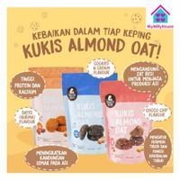 Mama Bear Cookies Almond Oat Pelancar Asi / Mamabear Kukis Asi Booster
