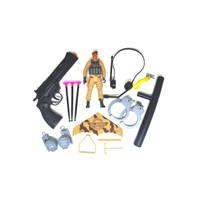 Mainan Tentara Play Set Military Figure Army Tas - glider