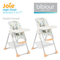 High Chair Joie Snacker 2 in 1 Kursi Makan Anak Bayi - Pastel Forest