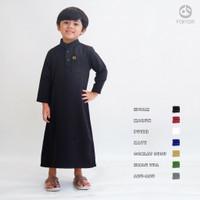 Gamis Jubah Anak Laki-laki Polos Usia 2-15 Tahun / Baju Koko Farrasi