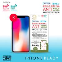 Rikeguard Rivex Protective Film Antivirus Antibacteria iPhone X