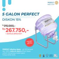 Perfect Alkaline Water Galon minimal 5 + free bracket