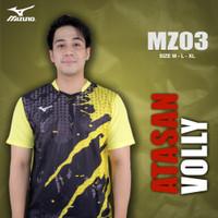 [MZ03] Baju Voli Pria Kaos Volly Proliga Atasan Olahraga Printing