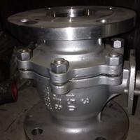 Ball valve stainless SS304 Ansi 150 ukuran 1/2 (inchi)