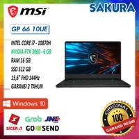 MSI GP66 Series 10UE-486|i7-10870H|16GB|512GB|RTX3060 6GB