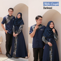 Baju Muslim Alifa Batik Couple