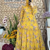 New Elnara Dress 19 Free Masker Kuning 140.000 matt Ceruty Baby doll,