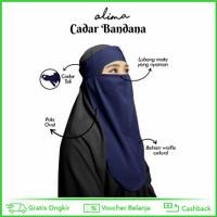 Niqab bandana wolfis anti sesak dan nyaman di mata by Alima Indonesia