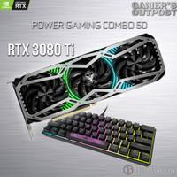 POWER COMBO 50 GAINWARD RTX 3080 TI PHOENIX + CORSAIR K65 RGB MINI