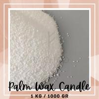 Raw Palm Wax Bahan Lilin Sawit Aromaterapi Candle Putih Bersih 1kg